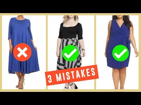 3 Big Fashion Mistakes | How To Hide Belly Fat & Clothes To Hide Tummy