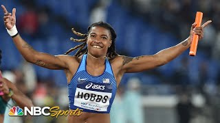 USA women hang on to win 4x100 relay in Yokohama   NBC Sports