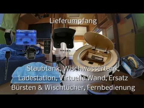 Ilife X5 Saugroboter Testbericht (Test im Caravan)