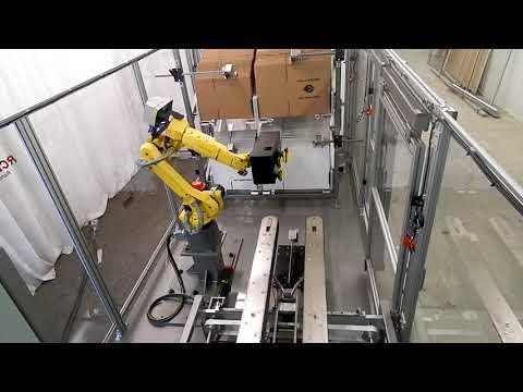 Formadora de cajas Random con Robot RCE
