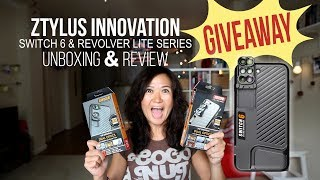GIVEAWAY 2017 - Ztylus Innovation Switch 6 - UNBOXING & REVIEW