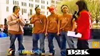 B2K Concert On A Morning Show In 2002 Screaming Teenage Girls Everywhere
