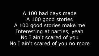 100 bad days AJR Lyrics