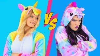Sfida Di Makeup Tra Unicorni Buoni vs Unicorni Cattivi / 8 Strepitose Idee Per Il Trucco Da Unicorno