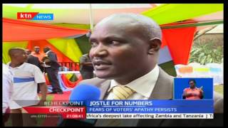 Jostile for Numbers: Fears of voters' apathy persists