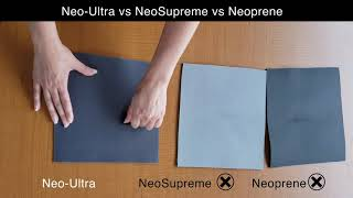 Neo Ultra vs. Neoprene vs. Neo-Supreme. Who is Toughest?