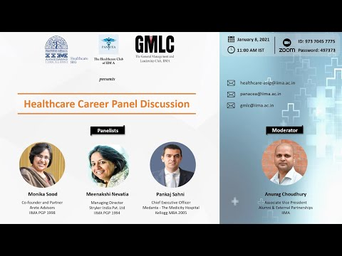 Healthcare Career Panel Discussion