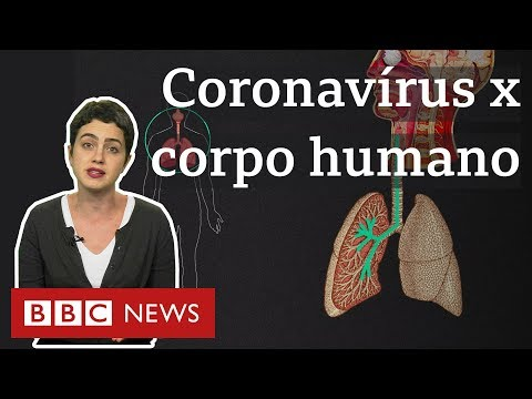Coronavírus: O que a doença 19 faz com o seu corpo