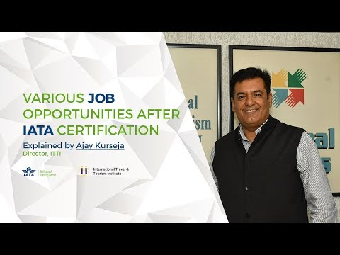 Various Job Opportunities after IATA Certification   Explained by ...