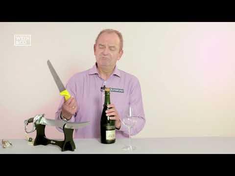 Herr Bert erklärt: der Champagnersäbel