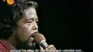 BARRY WHITE EN CHILE - Just the way you're