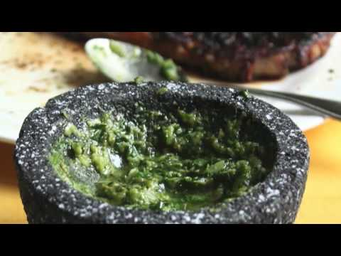 Food Wishes Recipes – Green Sauce Recipe – Salsa Verde – Raw Green Garlic and Herb Sauce