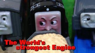 """トーマス プラレール ガチャガチャ せかいさいきょうのきかんしゃ Tomy Plarail Thomas """"The World's Strongest Engine"""""""