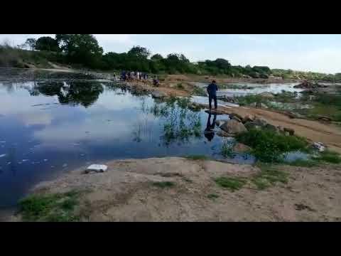 Morador registra volume de água do Piranhas próximo a Barra de Santana