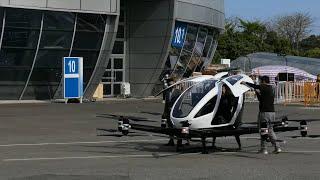 Poleć z nami na dron taxi!