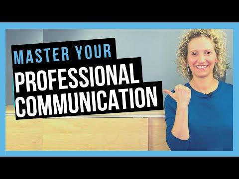 Professional Communication Skills [BUSINESS COMMUNICATION ...