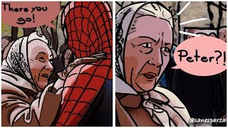 Funny Realistic Marvel Movie Comics Illustrations By Sanesparza