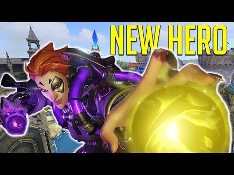 New Hero Moira On Blizzard World! [Overwatch]