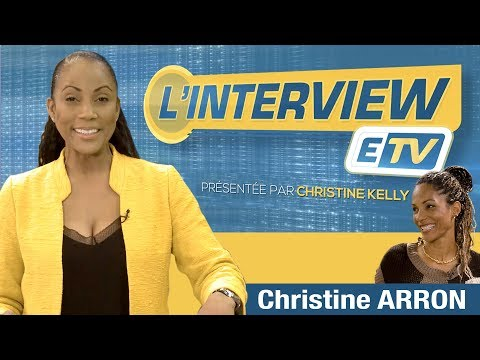L'interview ETV- Christine ARRON ( Recordwoman du 100m en Europe et championne du monde du sprint )