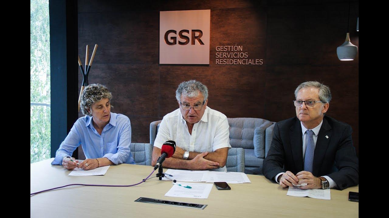 """GSR Fundazioa eta Cuidados Dignos Fundazioa aliatu dira """"arretaren duintasunaren"""" alde"""