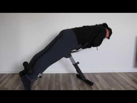 Sportstech Bauch- und Rückentrainer BRT200 Testvideo 2017