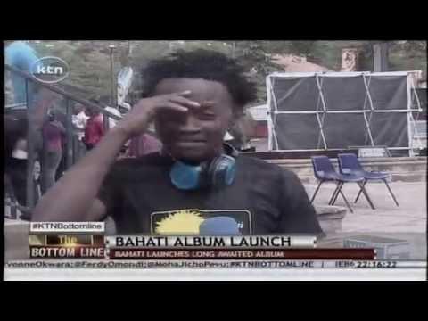 Bahati launches his awaited album titled 'Barua za Bahati'