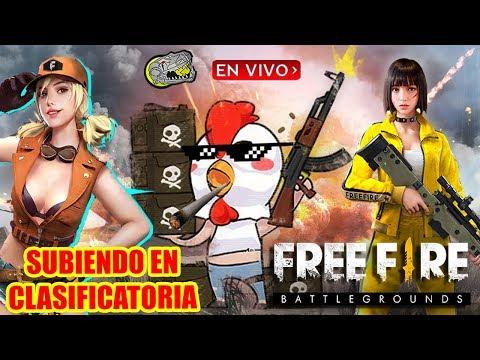 🔴 Subiendo en Clasificadora - Free Fire - Armando Equipos