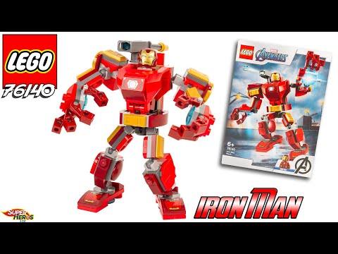 Vidéo LEGO Marvel Super Heroes 76140 : Le robot d'Iron Man