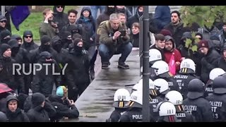 Germany: Clashes and arrests at mass anti-AfD rally in Cologne