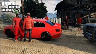 GTA 5 Crips & Bloods Out The Country [HD] RockStar Editor