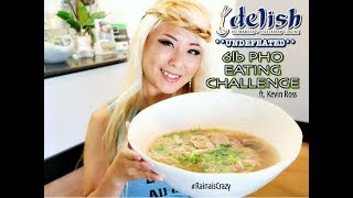 UNDEFEATED *New* 5lb Pho Eating Challenge in Temecula ft. Kevin Ross   RainaisCrazy