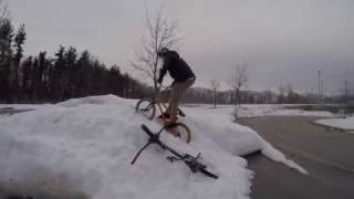 GoPro Bmx- Winter Riding