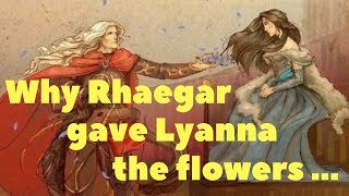 Why did Rhaegar crown Lyanna the Queen of Love and Beauty?