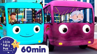 Wheels on The Bus! | +More Nursery Rhymes & Kids Songs | ABCs and 123s | Little Baby Bum