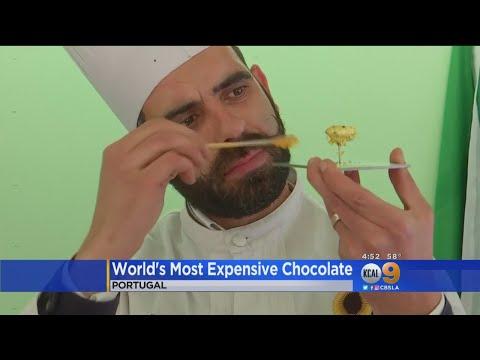 Во Португалија е изложена најскапата чоколада во светот – едно парче чини 7.728 евра