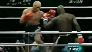 Ernesto Hoost Lowkicks Highlight