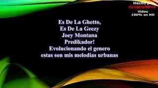 Moribundo - Joey Montana Ft De La Ghetto (Letra)