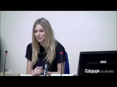Sienna Miller tells Leveson Inquiry: I accused my family of selling stories