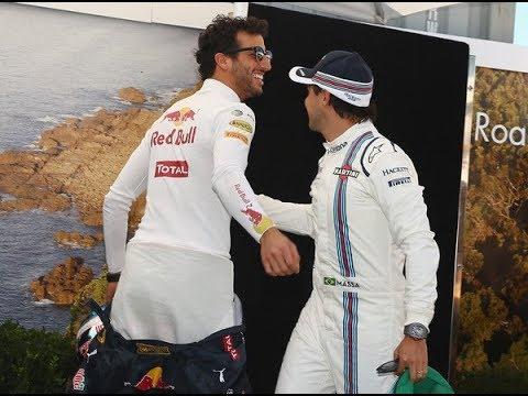 GP às 10: Massa revela o quanto Ricciardo quer se livrar da Red Bull