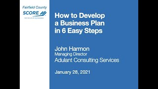 How to Develop a Business Plan in 6 Steps: A simple approach to planning & execution - John Harmon