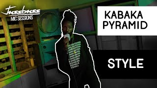 Kabaka Pyramid | Style | Jussbuss Mic Sessions | Season 1 | Episode 2