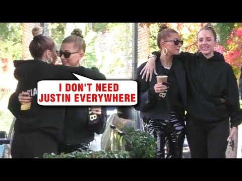 Hailey Baldwin SPLITS From Justin Bieber To Buy Coffee