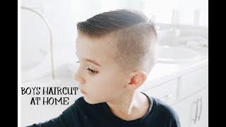 HOW TO CUT BOYS HAIR AT HOME   HAIRCUT TUTORIAL  