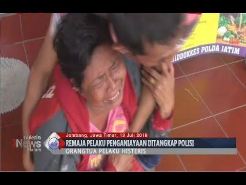 Polisi Tangkap 11 Remaja Pelaku Pengeroyokan di Jombang, Orang Tua Histeris - BIM 13/07