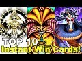 TOP 10 Instant Win Yugioh Cards