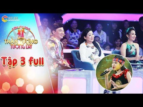 Hình ảnh Youtube -  Thần tượng tương lai | tập 3 full HD: Cẩm Ly, Quang Linh thích thú với giọng hát của cô bé 10 tuổi