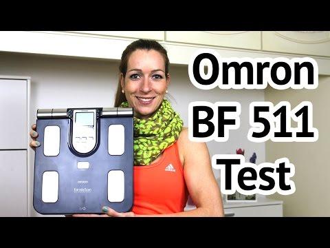 Omron BF-511 Segment-Körperanalysewaage Test - WAAGEN-TEST.DE