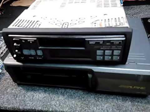Alpine Fm Am Cassette CD caja de discos CD changer