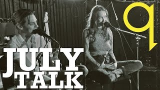 July Talk - Peter & Leah catch up with Tom Power
