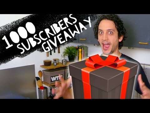 [CLOSED] 1000 Subscribers Insane GIVEAWAY ! (Win Jamie Oliver New Cookbook)